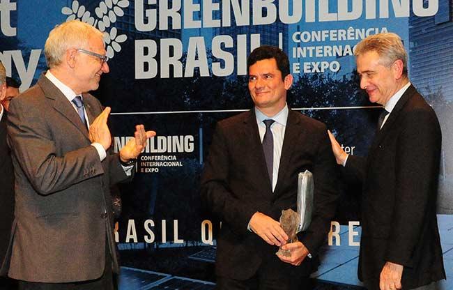 moro88 051118 - Prêmio a Moro é um dos destaques de conferência de energias inteligentes em Curitiba