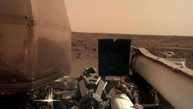 Photo of Nasa comemora pouso da sonda InSight em Marte