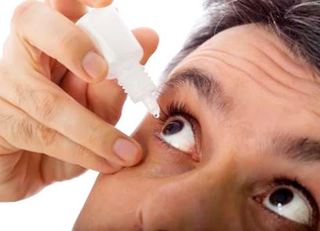 olho - Uso inadequado de colírio pode causar crise de hipertensão