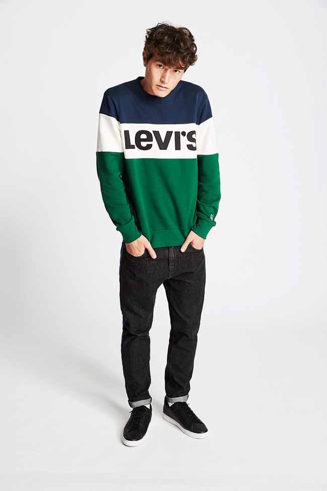 original levi2 - Levi's traz a logo-mania na coleção Primavera/Verão 2018