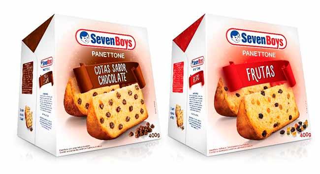 panettone2 - Seven Boys apresenta linha de Panettones