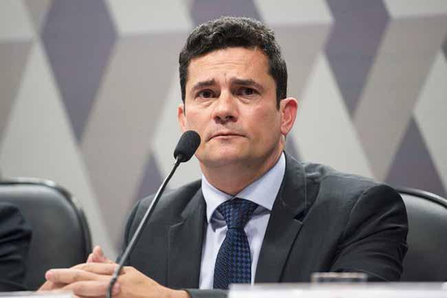 sergio moro - Sergio Moro chega ao Rio para conversar com Bolsonaro