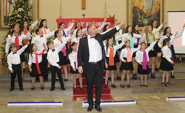 2º encontro de coros infantojuvenis 139 - Encontro de Coros abriu a programação natalina de Salvador do Sul