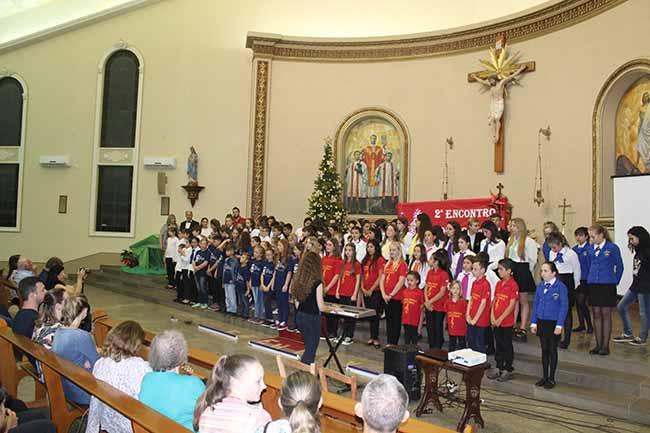 2º encontro de coros infantojuvenis 166 - Encontro de Coros abriu a programação natalina de Salvador do Sul