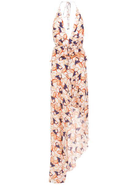 352774 852603 tufi duek vestido assimetrico seda estampado r 2.400 00 web  - Tufi Duek apresenta vestidos para as festas de fim de ano