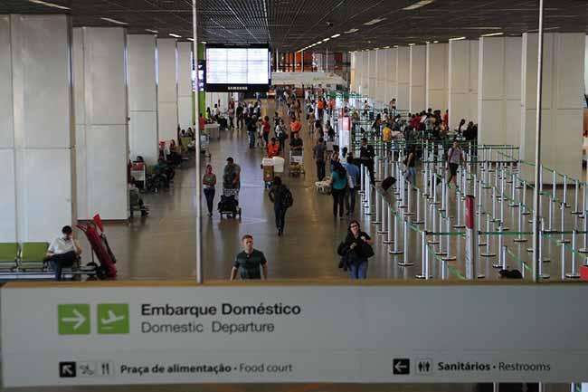 Aeroporto de Brasília posse Bolsonaro - Aeroporto de Brasília pede reforço na segurança por causa da posse