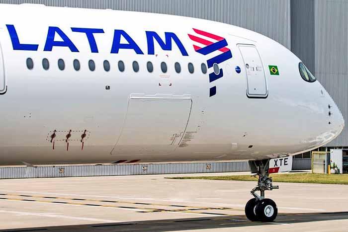 Airbus A350 LATAM XTE - Latam cancela quatro voos internacionais no Natal por falha em Airbus A350