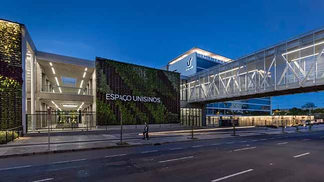 Campus da Unisinos em Porto Alegre - Abcic anuncia os vencedores do Prêmio Obra do Ano