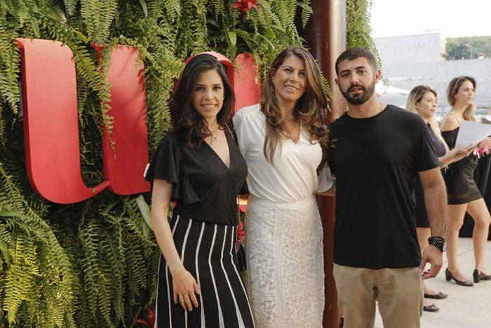 Carolina Fior a sócia proprietária Andrea Fior e José Henrique Fior 700x468 - Espaço gastronômico Souq é inaugurado em Curitiba