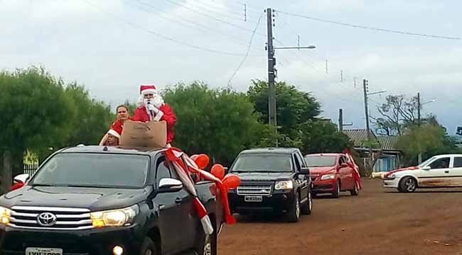 Consulado em Barracão promove ação de natal - Consulado em Barracão promove ação de natal