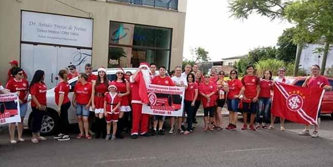 Consulado em Cacequi faz ação de natal - Consulado em Cacequi faz ação de natal