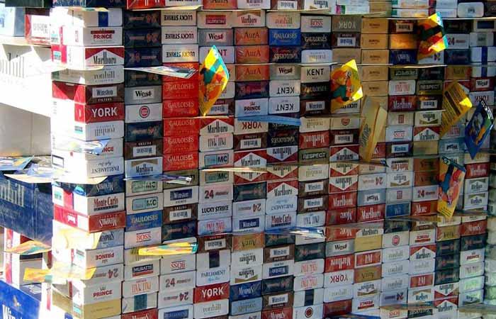 Contrabando de cigarros em goias - Goiás perde R$ 173 milhões com contrabando de cigarros