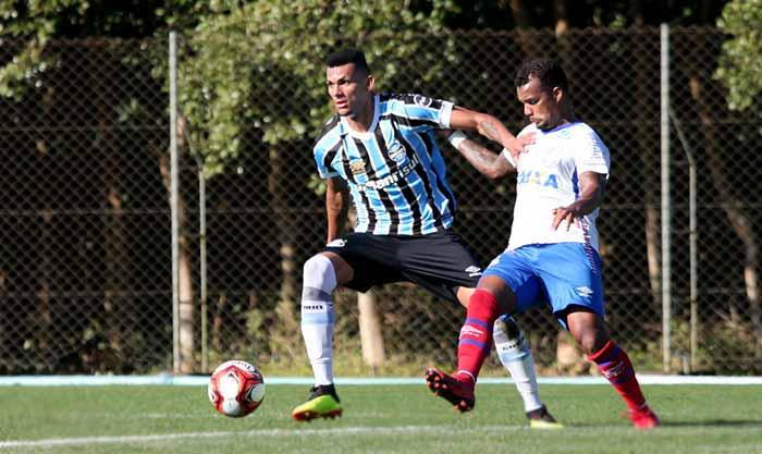 Grupo de Transição grêmio - Grêmio derrotou o Veranópolis em jogo-treino