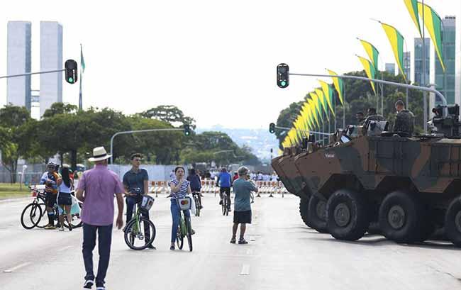 Jair Bolsonaro tomará posse em Brasília Capital Federal do Brasil - Brasília fica agitada com a posse de Jair Bolsonaro