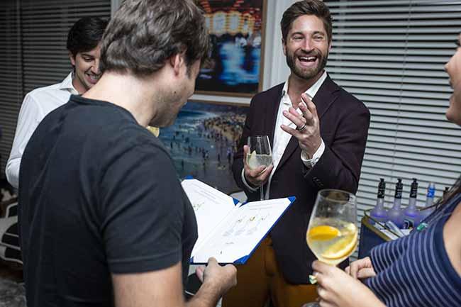 Joe McCanta vodka Grey Goose 2 - Lu Tranchesi e Joe McCanta recebem convidados para Vive Le Vodka Martini