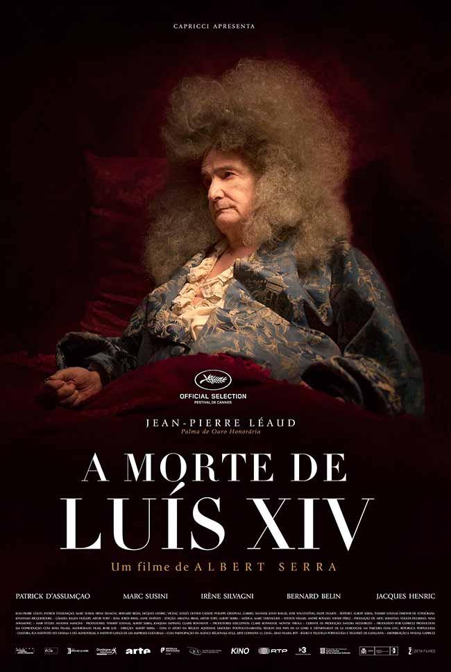 a morte de luis XIV cartaz - Cine Iberê exibe o premiado A Morte de Luis XIV