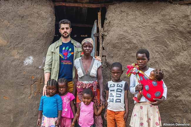 alok africa - Alok faz show beneficente na África