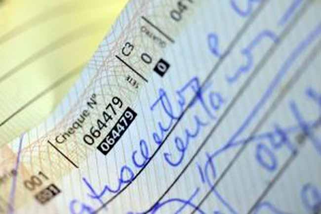 cheque 0 - Cheque e empréstimo pessoal tiveram juros menores em 2018