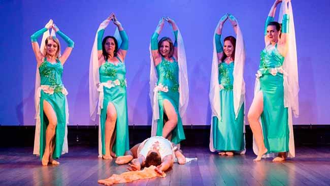 dança - Espetáculo de dança na Casa de Cultura Mario Quintana