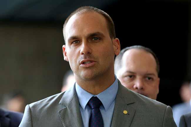 eduardo bolsonaro - PSL não deverá disputar presidência da Câmara dos Deputados