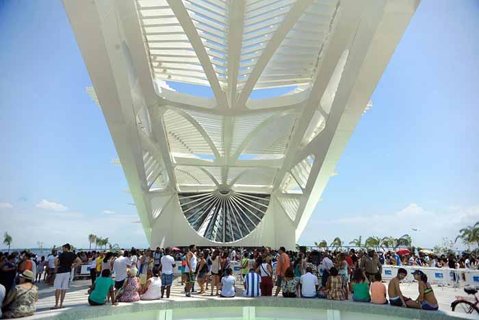 foto Tomaz Silva - Museu do Amanhã festeja 3 anos e mais de 3 milhões de visitantes