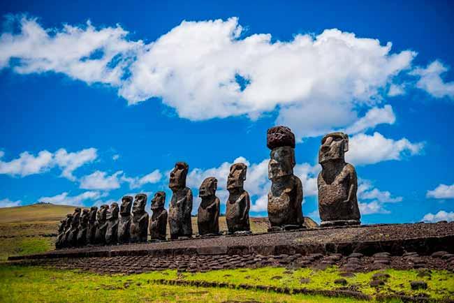 ilha de pascoa - Ilha de Páscoa enfrenta o impacto adverso da mudança climática