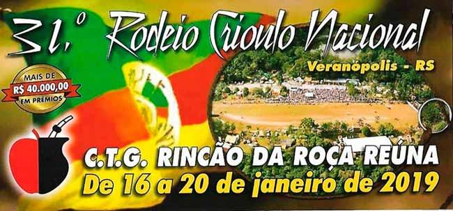 31 rodeio crioulo nacional 12632 - 31º Rodeio Crioulo Nacional de Veranópolis segue até domingo