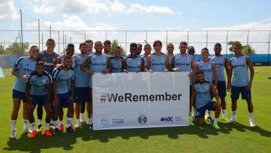Photo of Grêmio adere à campanha #WeRemember