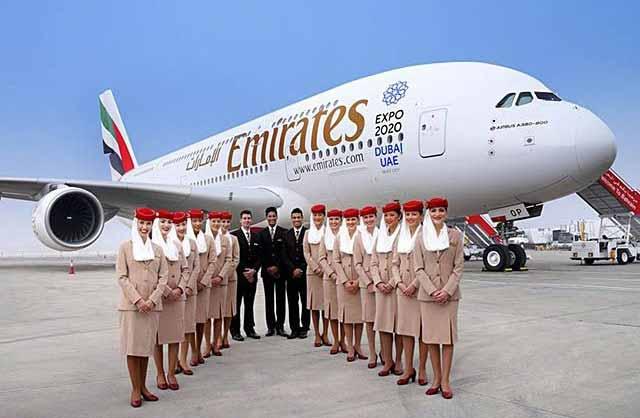 Aeronave da Emirates - Emirates oferece tarifas especiais programadas