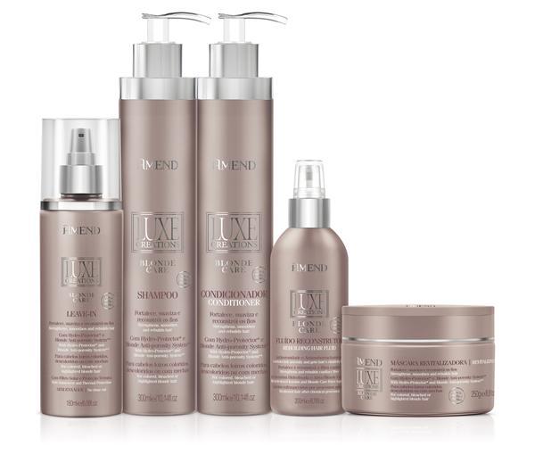 Amend lança a linha de produtos Luxe Creations Blonde Care - Amend lança a linha de produtosLuxe Creations Blonde Care