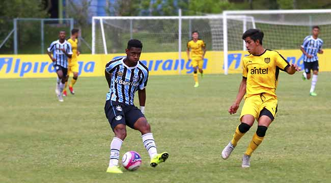 Atacante Tete do Gremigo - Atacante Tetê é convocado para a Seleção Sub-20