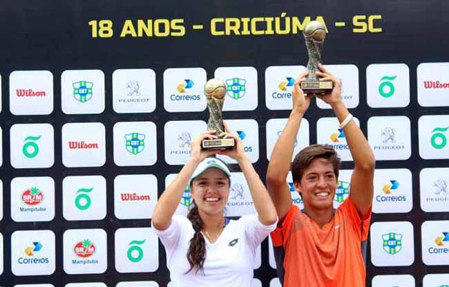 Banana Bowl 1 - Banana Bowl, torneio internacional de tênis infanto-juvenil, acontece em Santa Catarina