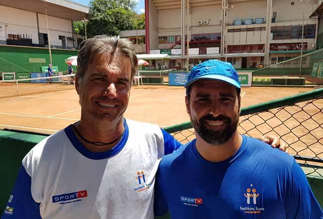 Bocão e Bonatto - Copa Unimed VS de Tênis segue até sábado em Novo Hamburgo