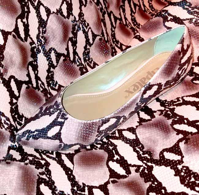 Calçado Scarpin - Cipatex lançou sua Coleção Verão 2020 de laminados para calçados no Inspiramais