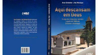 Capa Aqui descansam em Deus finalizada 390x220 - Livro retrata a saga dos imigrantes alemães em Criciúma e Araranguá