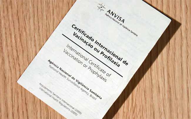 Certificado Internacional de Vacinação ou Profilaxia - Certificado Internacional de Vacinação ou Profilaxia já pode ser emitido pela internet