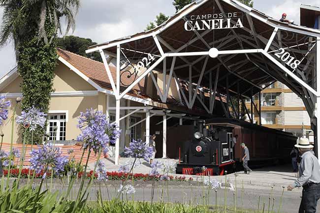 Cleiton Thiele - Estação Campos de Canella confirma inauguração dia 30 de janeiro