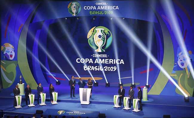 Copa América 2019 no Brasil - A Copa América irá ocorrer no Brasil entre 14 de junho e 7 de julho