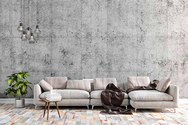 Decoração Industrial I - Telhanorte dá dicas para escolher o piso para decoração industrial