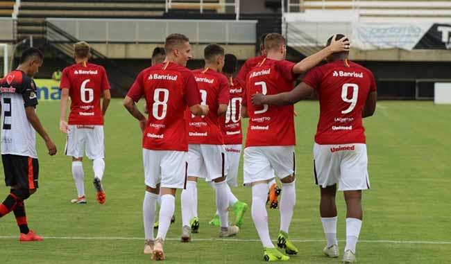 Estreia do Inter na Copa São Paulo 2019 - Inter aplica goleada na estreia Copa São Paulo