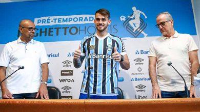 Felipe Vizeu no Grêmio 390x220 - Felipe Vizeu é apresentado oficialmente pelo Grêmio