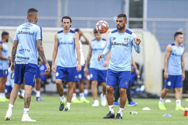 Grêmio treina em dois turnos 2 - Grêmio fechou o sétimo dia de preparação na temporada
