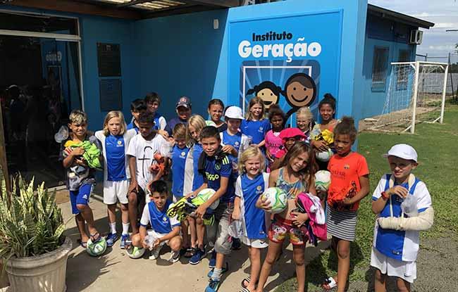 Instituto Geração Tricolor - Instituto Geração Tricolor recebe doação