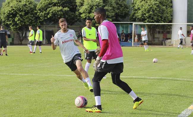 Inter enfrenta Votuporanguense nesta quarta feira pela Copinha - Inter fez último treino antes de enfrentar o Votuporanguense