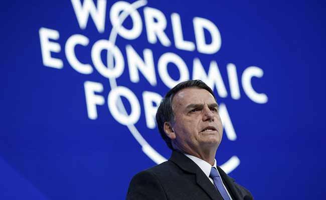 Jair Bolsonaro em Davos - Jair Bolsonaro fala de economia, Venezuela e Battisti em Davos