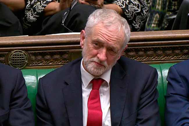 Jeremy Corbyn - Parlamento britânico quer acordo para quebrar o impasse do Brexit