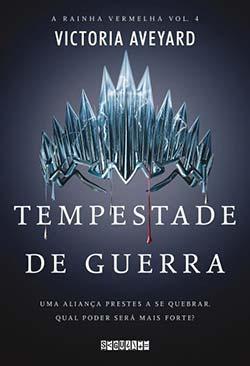 """Livro Tempestade de Guerra A Rainha Vermelha - Vencedor da seção """"Livro do ano"""" da Saraiva é Beren e Lúthien"""