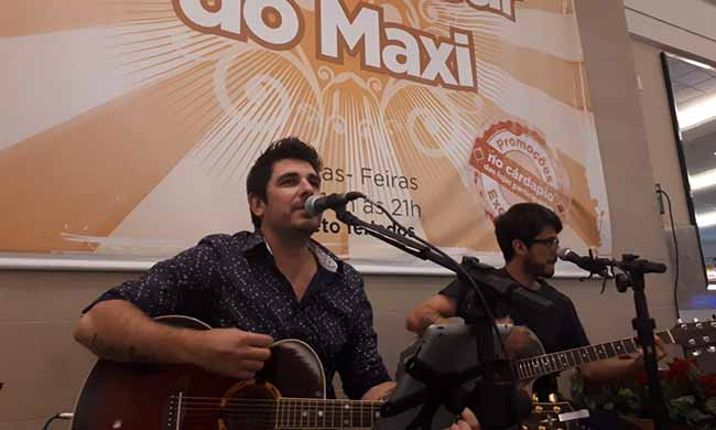 Maxi Happy Hour Projeto Brazuka Duo 3 - Projeto Brazuka Duo dia 29/1, no Happy Hour do Maxi Shopping Jundiaí