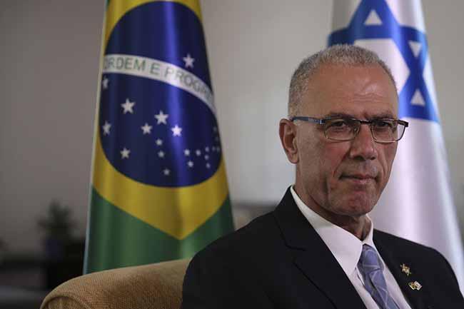 Militares israelenses ficarão o tempo necessário diz embaixador - Embaixador diz que militares israelenses ficarão o tempo necessário