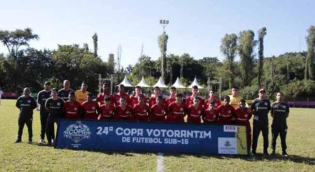Mirim do Inter fica com o vice campeonato da Copa Votorantim - Mirim do Inter fica com o vice-campeonato da Copa Votorantim
